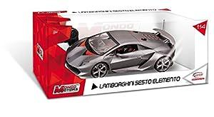 Mondo Motors - Coche con radiocontrol, Escala 1:14, Modelo Lamborghini Sesto Elemento (63217)