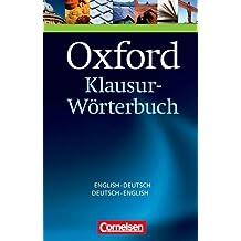 Oxford Klausur-Wörterbuch: B1-C1 - Englisch-Deutsch/Deutsch-Englisch