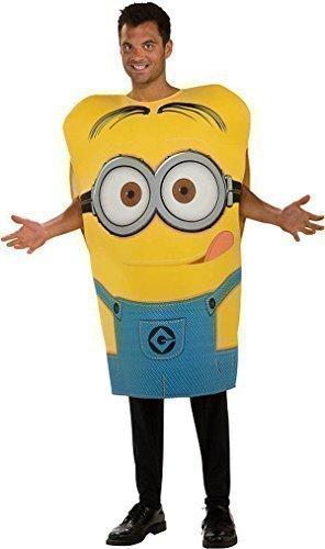 Herren Erwachsene Dave Minion Ich - Einfach Unverbesserlich Lizensiert Film Kostüm Kleid (Erwachsene Für Outfit Minion)
