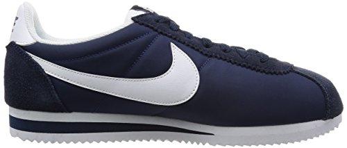 Nike Classic Cortez Nylon, Scarpe Sportive Uomo Azul (Azul (Obsidian/White))