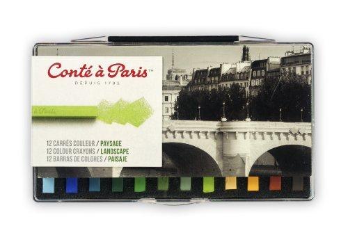 Conte Crayon 12 Assorted Landscape Set by Cont Paris (Crayon ? Cont)