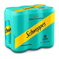 Schweppes Bitter Lemon - 330ml(Pack of 6)