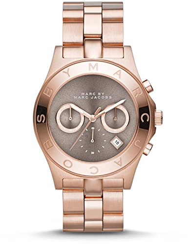 Marc Jacobs Unisex Plated Stainless Steel Quartz Watch MBM3308