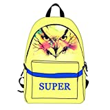 Zebra Dolphin Child Backpack Fille 3D School Backpack