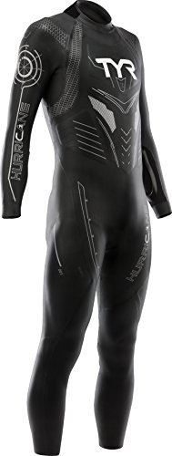 TYR Hurricane C3 Herren-Triathlon-Anzug schwarz schwarz/Silber, Herren, schwarz/Silber (Tyr-triathlon-anzug)