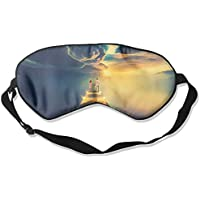 Comfortable Sleep Eyes Masks Twilight Dock Printed Sleeping Mask For Travelling, Night Noon Nap, Mediation Or... preisvergleich bei billige-tabletten.eu
