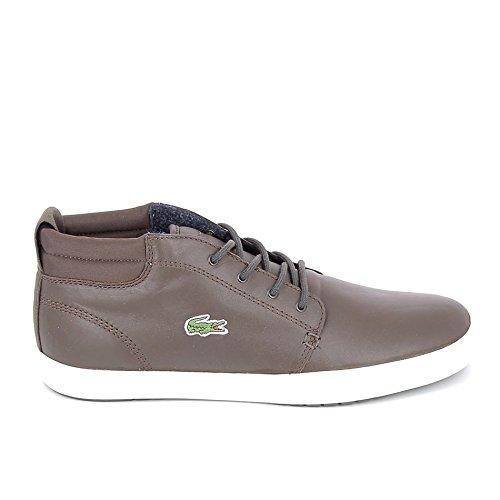 Lacoste, Sneaker uomo nero nero marrone Size: 40