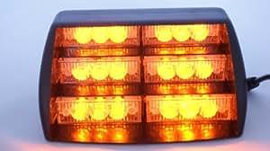 18 LED Amber Dash/Windscreen Strobe Light/Beacon
