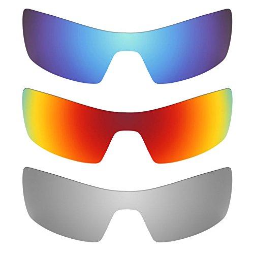 Revant Ersatzlinsen für Oakley Oil Rig Polarisiert 3 Paar Kombipack K014