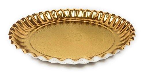 ller rund, ø 22cm | Keksteller | Weihnachten | Kekse | Gebäck | Karton | stabil | Pappteller (Weihnachts-pappteller)