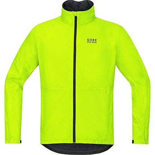 Gore Bike Wear Herren Element Gore-Tex Jacke, Neon Gelb, S