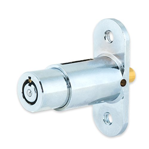 FJM Security Products MEI-2612L Schiebet-r-Push-Lock-Packung mit 4 St-ck