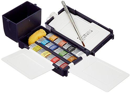 Winsor & Newton - Set compatto di acquerelli professionali