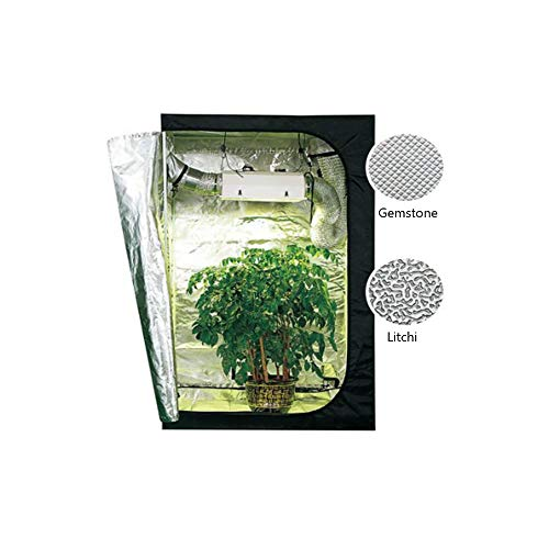 CLCYL Pflanzenbauzelt Hydro Box Lichtdicht Wasserdicht Pflanze Gartenarbeit Knospe Box Pflanzenbau Beleuchtungskörper Pflanzen Wachsen Werkzeug 120 * 120 * 200 cm -
