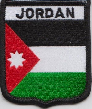 Jordan Flag Patch, Motiv:)
