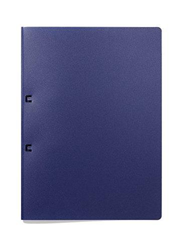 Durable 250307 Schlaufenhefter für 50 Blatt A4, 5 Stück, dunkelblau