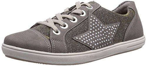 Remonte D9105 42, Baskets mode femme Gris (Staub/Gold/Silver)