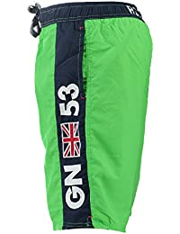 Geographical Norway–Geographical Norway Swimsuit Quatar Men Green