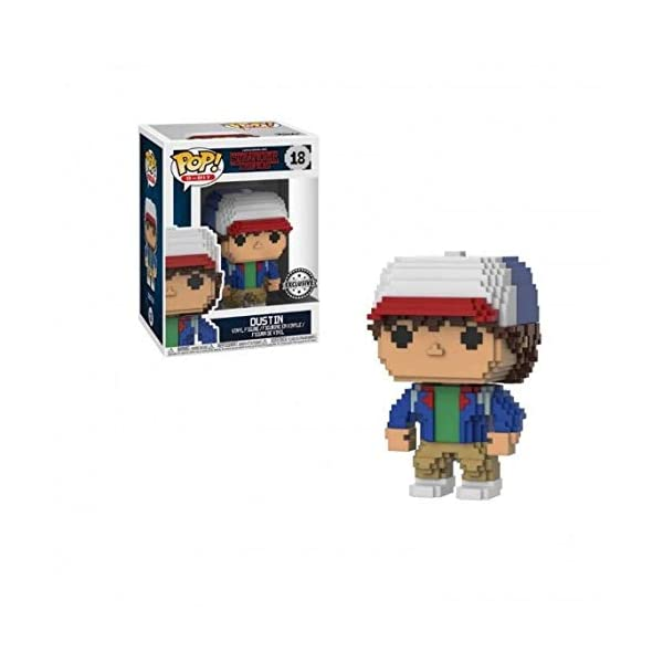 Funko Pop Dustin (Stranger Things 8-Bit 18) Funko Pop Stranger Things