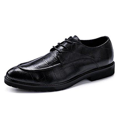 Scarpe Di Cuoio Oxfords Casual Dress Casual Black