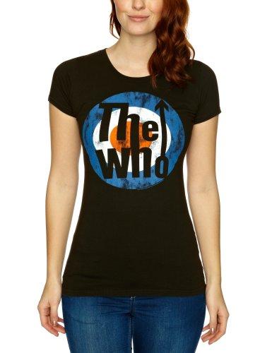 Logoshirt - T-shirt - Femme Noir (Vintage Black)