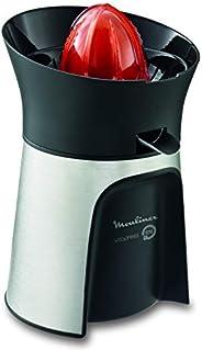MOULINEX Direct Serve Juicer, 100 Watts, Silver/Dark Grey, Stainless Steel, PC603D27