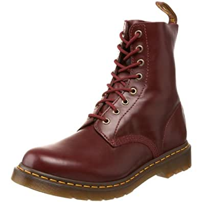 Dr. Marten's Pascal, Women's Lace-Up Boots, Red, 3 UK
