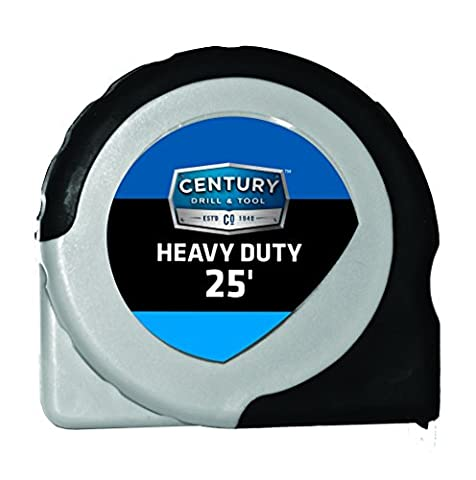 Century Drill And Tool 72832 Extramark Tape Measure, 25-Foot