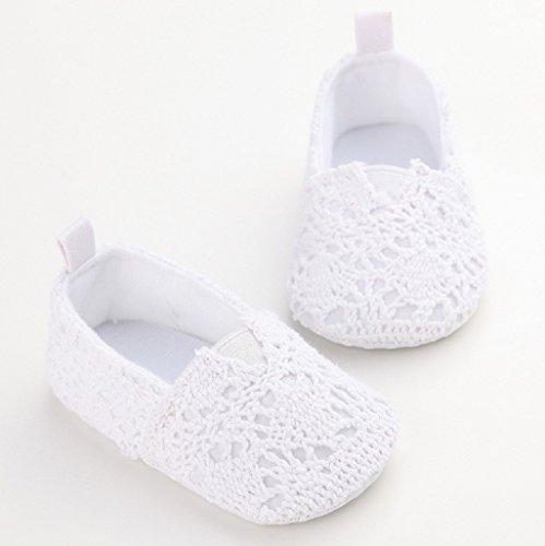 Wei 0 12cm Auxma Baby Kleinkind f眉r Schuhe Sole 12M M盲dchen Herbst weiche Schuh Krippe Monat 6 18 neugeborene Sommer BHZqBwCUxn