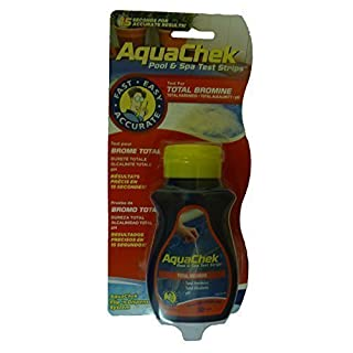 Aquachek red test strips for pools and spas