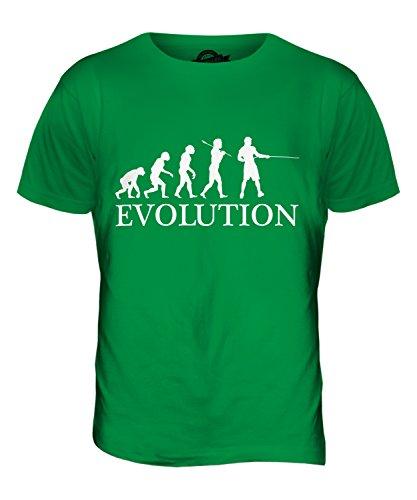 CandyMix Tauziehen Evolution Des Menschen Herren T Shirt Grün