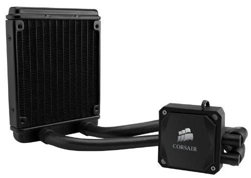 Corsair CW-9060007-WW Hydro Series Wasserkühler (H60 mit Kühlmittel, 120 mm High Performance CPU) schwarz - 2