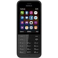 """Nokia 220 - Móvil libre (pantalla 2.4"""", cámara 2 MP), negro (importado)"""