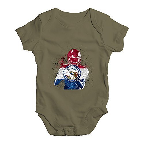 TWISTED ENVY Baby Girl Clothes Missouri American Football Player