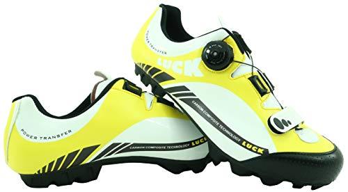 LUCK Zapatillas de Ciclismo Pro 0.17 MTB