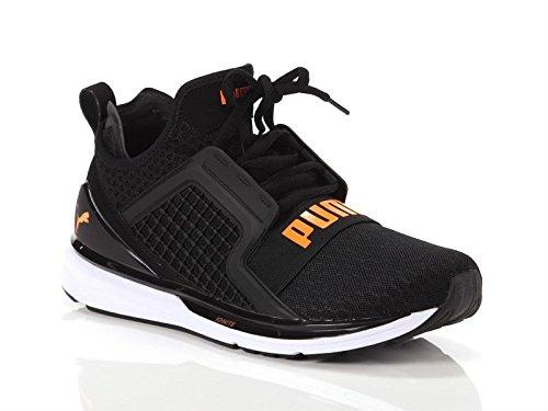 Puma ignite limitless sneakers nero bianco arancione 189495-12 (42 - nero)