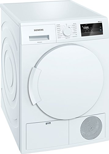 Siemens WT43H007DN Libera installazione Carica frontale 7kg A+ Bianco asciugatrice