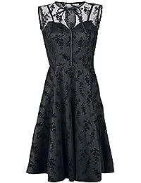 Voodoo Vixen Emerald Kleid schwarz
