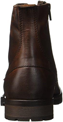 Brown Brown Leather Klassische Braun Stone Jfworca Stiefel JACK Herren Stone JONES xqwgHISIn