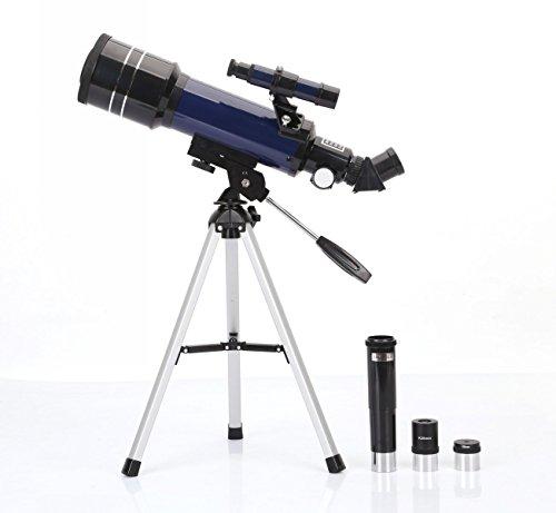 BV & JO REFLECTOR ASTRONOMIA TELESCOPIO CON TRIPODE Y OCULARES TRIPODE REGULABLE DE DOBLE PROPOSITO