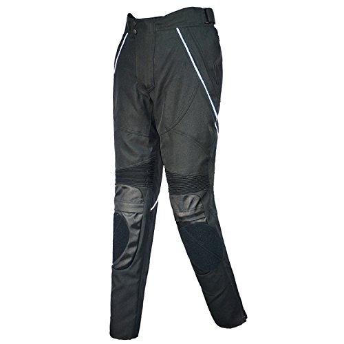 Motorradhose, wasserdicht, Tight Hosen, Reithosen, zum Radfahren, Angeln oder Wandern (Schwarz, M)