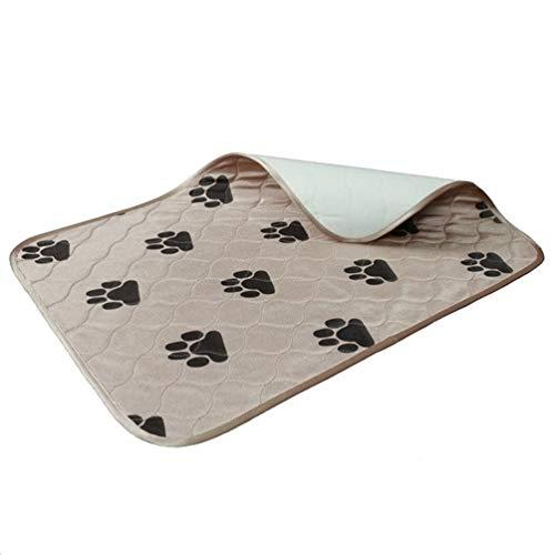 Feidaeu Pet Training Reise Urinal Pad Hohe Qualität Antifouling Schnelle saugfähige Wasserdichte Wiederverwendbare Steppung waschbar für Welpen -