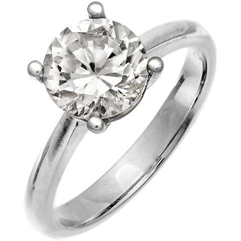 Naava Anello di fidanzamento in oro bianco