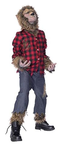 Deluxe Werewolf The Wolfman child costume for Halloween - large