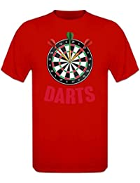 Shirtcity Tripple Bullseye Darts Dartboard T-Shirt