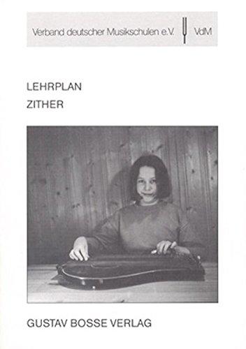 Zither (Lehrpläne des Verbandes deutscher Musikschulen e.V.)