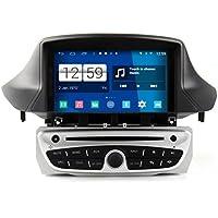roverone quod Core Android Sistema 7pulgadas reproductor de DVD del coche para Renault Megane 3III fluencia con Autoradio GPS navegación Radio estéreo Bluetooth SD USB espejo Enlace pantalla táctil