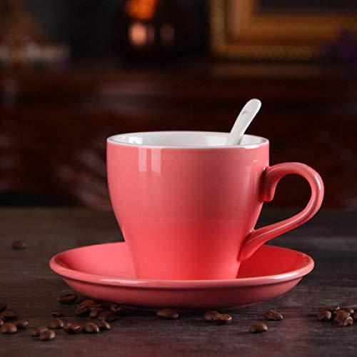 Keramik Macaron Kaffeetasse, Freizeit Cafe Office, Haushalt, Produkte Leicht und geschmackvoll Leben@220 ml_5