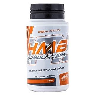 Trec Nutrition HMB Formula Caps Aminosäure L-Leucin unterstützt den Aufbau fettfreier Muskelmasse Training Bodybuilding 70 Kapseln