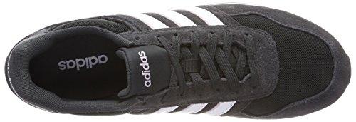 adidas 10k W, Chaussures de Fitness Femme Multicolore (Carbon S18/ftwr White/aero Pink S18 Carbon S18/ftwr White/aero Pink S18)